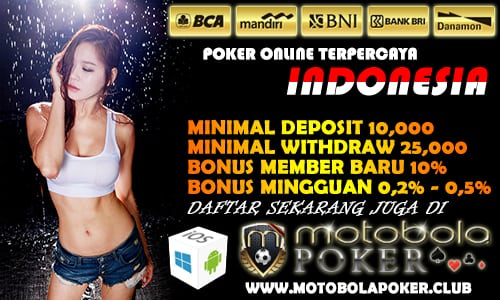 Daftar Judi Poker Online Deposit 10ribu Disini