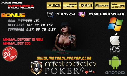 Tips Main Dan Daftar Poker Online Indonesia