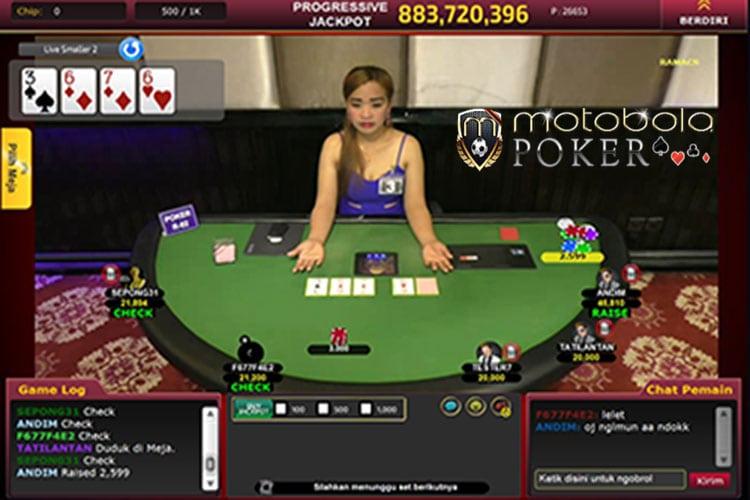 Judi Live Dealer Asli Poker Online 2017
